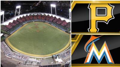 Los Marlins de Miami y los Piratas de Pittsburgh tienen programada una s...