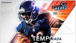 Lista de los partidos de los Bears