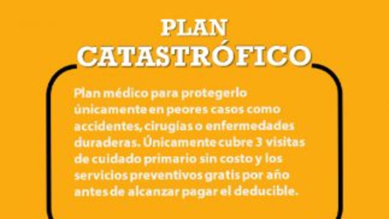 Glosario - Ley de salud - Plan Catastrófico