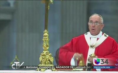 Papa Francisco pidió perdón por abusos
