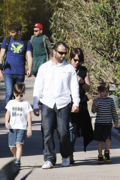 Matteo y Valentino disfrutando de España.