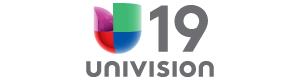 Univision 19 header logo