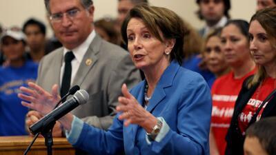 Congresistas demócratas forzarán voto para una reforma migratoria