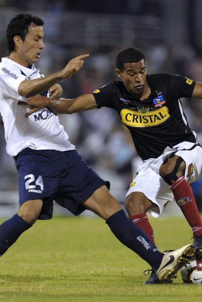 El que regresó a Colo Colo para irse fue el colombiano Macnelly Torres (...