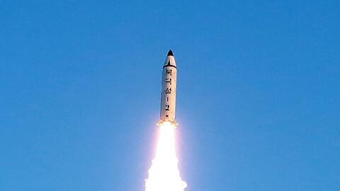 El nuevo misil balístico norcoreano probado el pasado fin de sema...