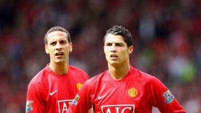 Rio Ferdinand/ Cristiano Ronaldo
