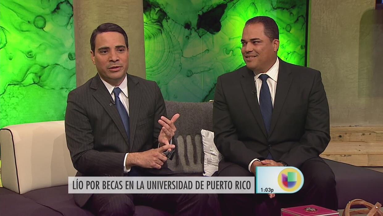 Tremendo escándalo por becas presidenciales en la Universidad de Puerto...