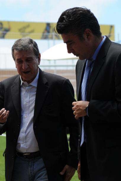 Parreira conversó con el entrenador de la selección sub 20.