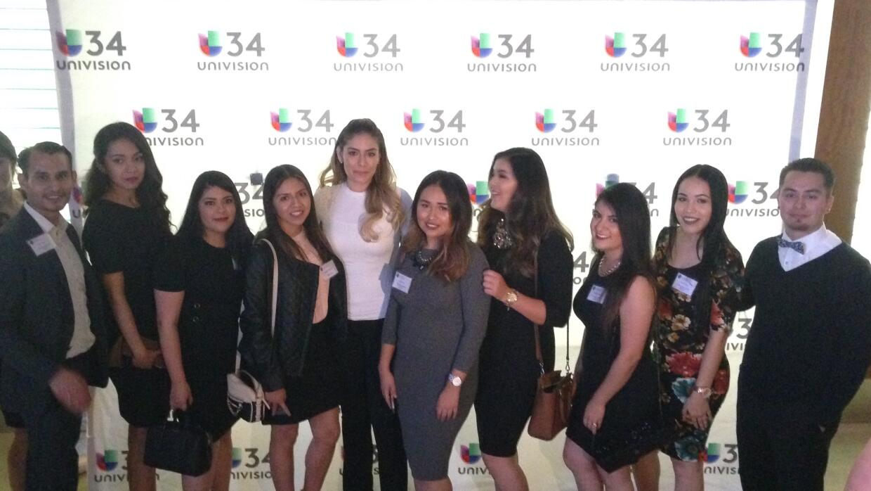 United Latinos Students en Univision
