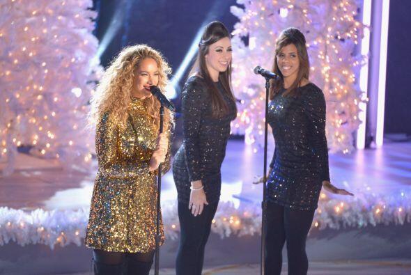 La cantante además compartió escenario con Audra McDonald...