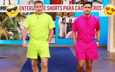 Alan y Rodolfo modelaron la tendencia más 'hot' del verano: el enterizo...