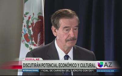 Ex presidentes en Phoenix para discutir potencial económico