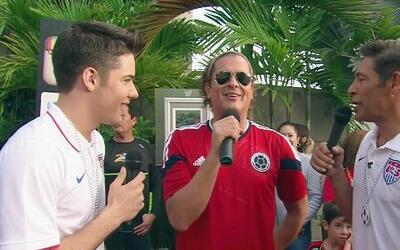 Los fans enviaron saludos a Carlos Vives