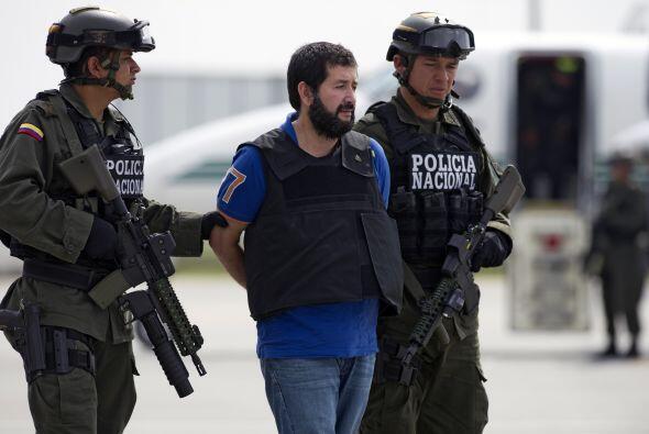 En febrero de 2011 la Policía colombiana, el Servicio de Inmigración y C...
