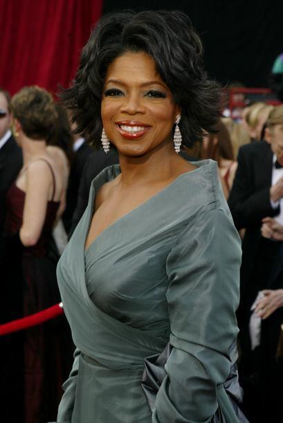 Oprah Winfrey es la única billonaria afroamericana de Estados Unidos.  M...