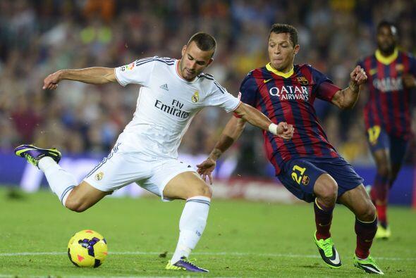 Jesé marcó en el descuento a pase de Cristiano Ronaldo.