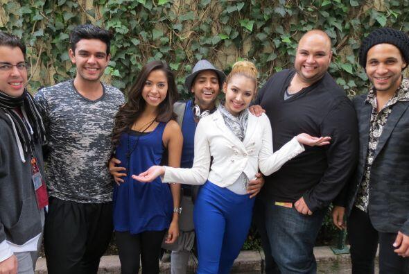 Raúl, Espiridión, Virginia, José, Paloma, Ricardo y Frank, del team Jenc...