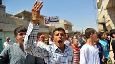 El régimen del presidente sirio, Bachar al Asad, intensificó su ofensiva...