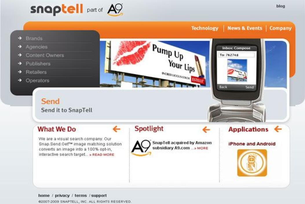 SNAPTELL - Utiliza el código de barras, la búsqueda por imágenes (toma u...