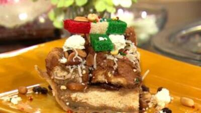 Capirotada mexicana para Pascua