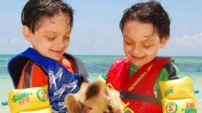 Javier y David, los maravillosos gemelos de Cao y Ela