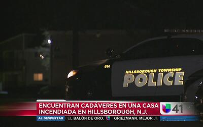 Hallan cadáveres en una casa incendiada en Hillsborough