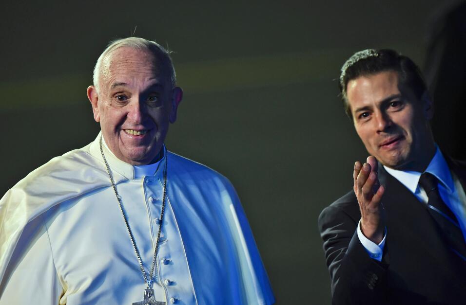 Fotos: Con mariachis y globos reciben al papa Francisco en México