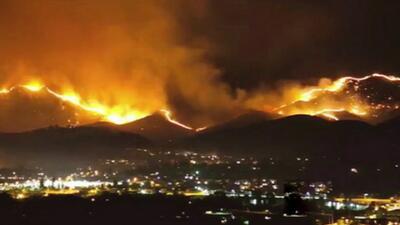 Incendios forestales dejan caos y destrucción al oeste del país