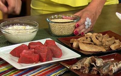 Claudia Molina habló de los alimentos que benefician cada parte de tu cu...