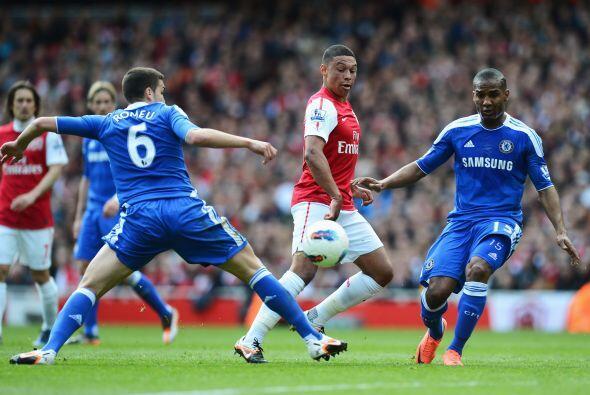 Arsenal recibió la visita del Chelsea en un partido donde ambos c...