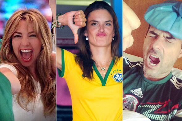 Las celebridades no se han perdido ni un sólo encuentro del Mundial de B...