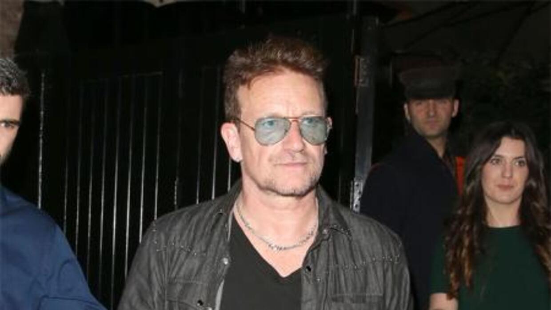 El lider de U2, Bono