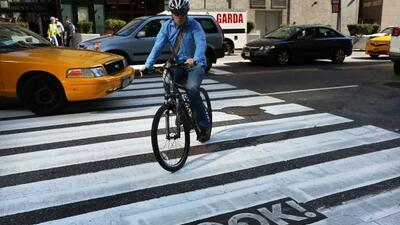 Ciudades como Nueva york tienen campañas especiales para prevenir accide...