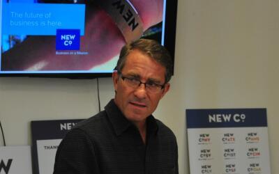 John Battelle fue uno de los editores fundadores de la revista Wired