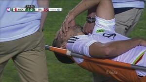 Henry Martín se lesiona en el México vs Trinidad y Tobago