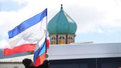 El Parlamento de Crimea pide la anexión con Rusia