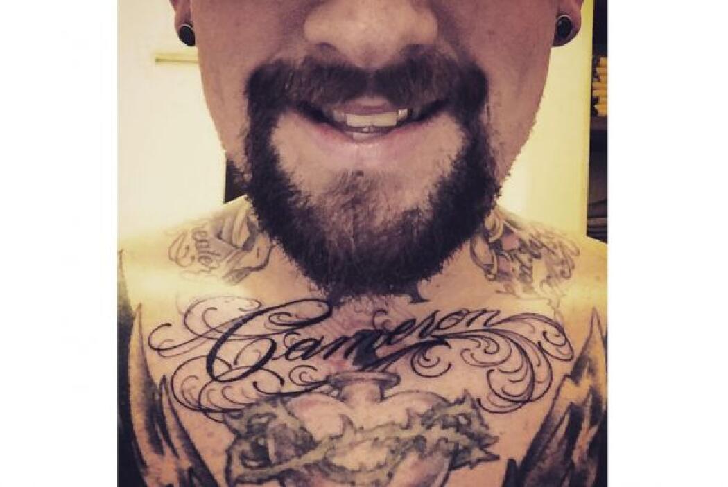 ¡Cuánto amor! Benji Madden se tatuó en el pecho el nombre de su guapísim...