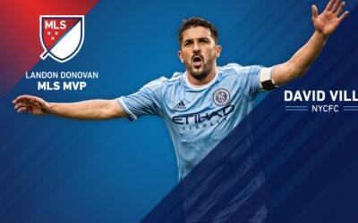 David Villa MVP de la MLS
