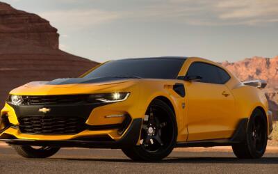 "Así de poderoso luce el Chevrolet Camaro 2016 que aparecerá en ""Transfor..."