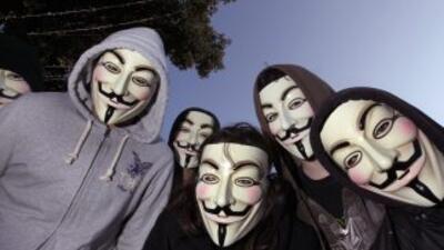 Anonymous declaró la guerra a los terroristas.