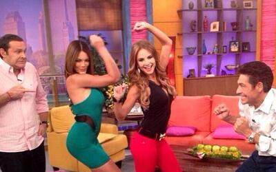 Zuleyka Rivera regresó a Despierta América a bailar el 'colalicious'