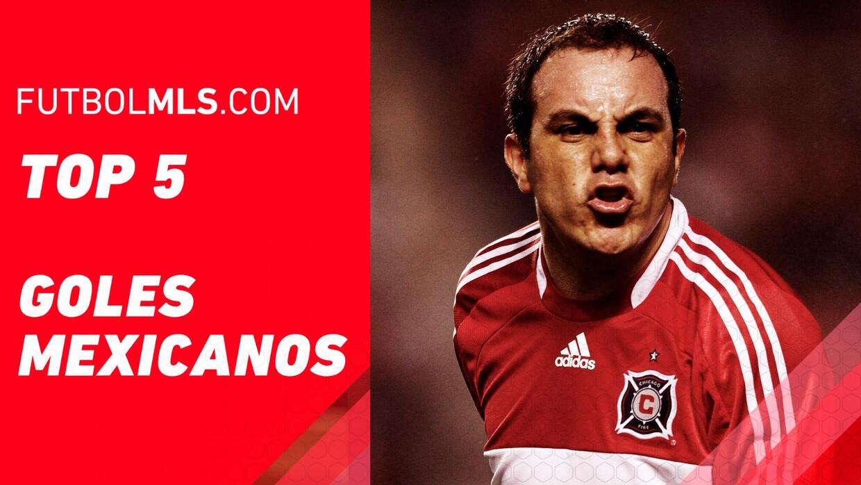 TOP 5 de goles mexicanos en la MLS en 5 de mayo