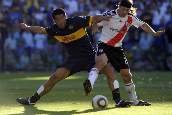 Riquelme no salió a jugar el segundo tiempo y Boca no gener&oacut...