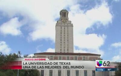 La Universidad de Texas, una de las mejores del mundo