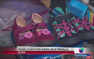 Piden donación de zapatos para niños en Guatemala