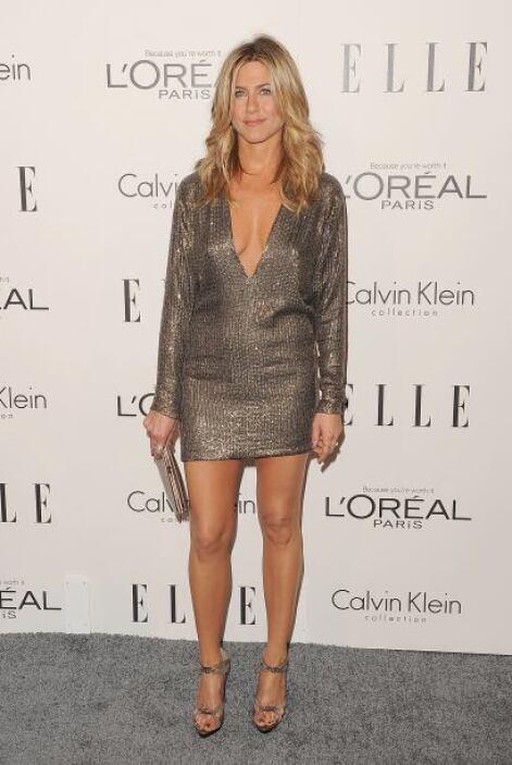 Jennifer Aniston inició su carrera en la actuación sin mucha suerte ya q...