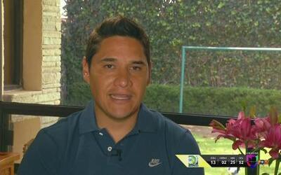 Moisés Muñoz sueña con jugar en Brasil 2014