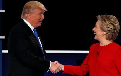 Lo bueno, lo malo y lo peor de Clinton y Trump durante el debate