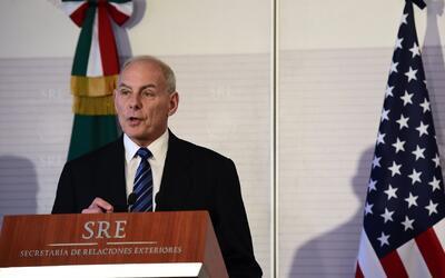 """Kelly aseguró en México que """"no habrá deportaciones masivas"""""""