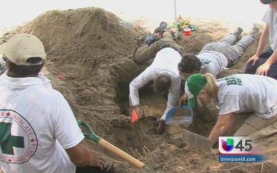 Ayudan a identificar las tumbas sin nombre